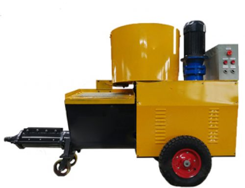 Wall Cement Plaster Machine